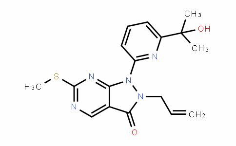 2-allyl-1-(6-(2-hyDroxypropan-2-yl)pyriDin-2-yl)-6-(methylthio)-1H-pyrazolo[3,4-D]pyrimiDin-3(2H)-one