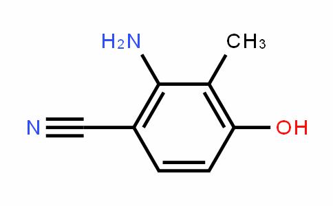 2-amino-4-hyDroxy-3-methylbenzonitrile
