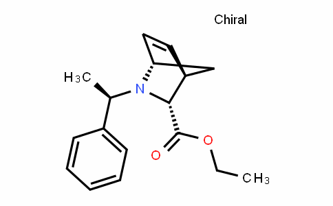 2-Azabicyclo[2.2.1]hept-5-ene-3-carboxylic acid, 2-[(1R)-1-phenylethyl]-, ethyl ester, (1S,3R,4R)-