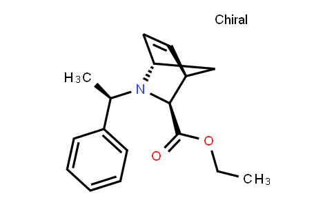2-Azabicyclo[2.2.1]hept-5-ene-3-carboxylic acid, 2-[(1R)-1-phenylethyl]-, ethyl ester, (1S,3S,4R)-