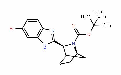2-Azabicyclo[2.2.1]heptane-2-carboxylic acid, 3-(6-bromo-1H-benzimiDazol-2-yl)-, 1,1-Dimethylethyl ester,(1R,3S,4S)-