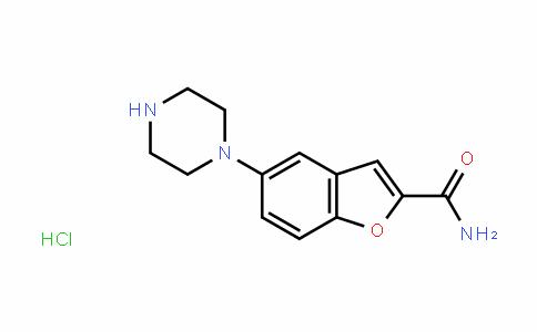5-(哌嗪-1-基)苯并呋喃-2-甲酰胺盐酸盐