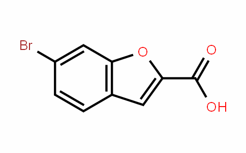 2-Benzofurancarboxylic acid, 6-bromo-