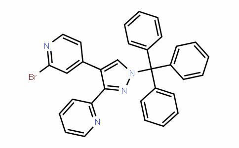 2-bromo-4-(3-(pyriDin-2-yl)-1-trityl-1H-pyrazol-4-yl)pyriDine