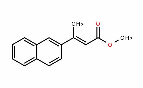 2-Butenoic acid, 3-(2-naphthalenyl)-, methyl ester, (2E)-