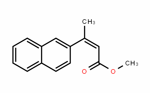 2-Butenoic acid, 3-(2-naphthalenyl)-, methyl ester, (2Z)-