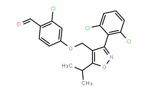 2-chloro-4-((3-(2,6-Dichlorophenyl)-5-isopropylisoxazol-4-yl)methoxy)benzalDehyDe