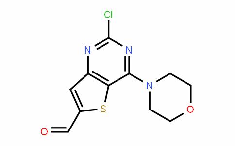 2-Chloro-4-(morpholin-4-yl)thieno[3,2-D]pyrimiDine-6-carboxalDehyDe