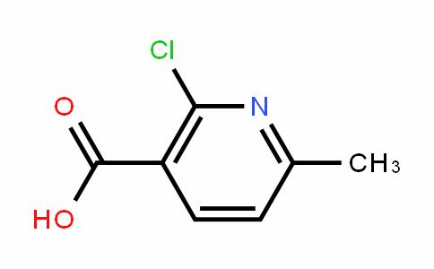 2-Chloro-6-methylnicotinic acid