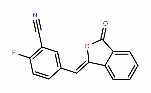 2-fluoro-5-((3-oxoisobenzofuran-1(3H)-yliDene)methyl)benzonitrile