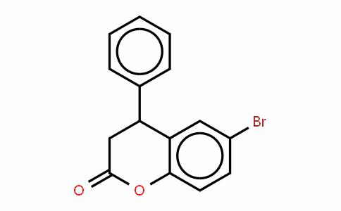 2H-1-Benzopyran-2-one, 6-bromo-3,4-DihyDro-4-phenyl-, (±)-