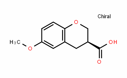 2H-1-Benzopyran-3-carboxylic acid, 3,4-DihyDro-6-methoxy-, (3S)-