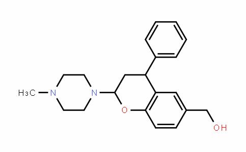 2H-1-Benzopyran-6-methanol, 3,4-DihyDro-2-(4-methyl-1-piperazinyl)-4-phenyl-