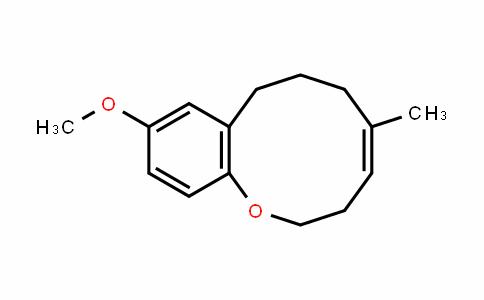 2H-1-Benzoxecin, 3,6,7,8-tetrahyDro-10-methoxy-5-methyl-, (4Z)-