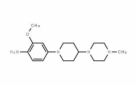 2-methoxy-4-(4-(4-methylpiperazin-1-yl)piperiDin-1-yl)aniline