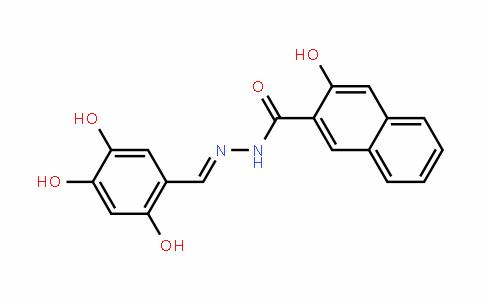 2-Naphthalenecarboxylic acid, 3-hyDroxy-, 2-[(2,4,5-trihyDroxyphenyl)methylene]hyDraziDe