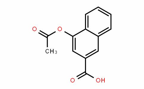 2-Naphthalenecarboxylic acid, 4-(acetyloxy)-