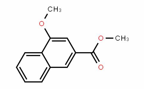 2-Naphthalenecarboxylic acid, 4-methoxy-, methyl ester