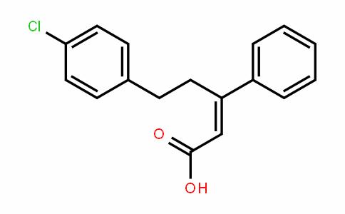 2-Pentenoic acid, 5-(4-chlorophenyl)-3-phenyl-, (2E)-