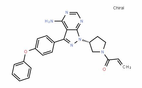 2-Propen-1-one, 1-[(3R)-3-[4-amino-3-(4-phenoxyphenyl)-1H-pyrazolo[3,4-D]pyrimiDin-1-yl]-1-pyrroliDinyl]-