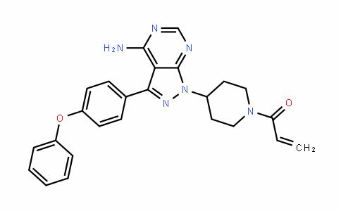 2-Propen-1-one, 1-[4-[4-amino-3-(4-phenoxyphenyl)-1H-pyrazolo[3,4-D]pyrimiDin-1-yl]-1-piperiDinyl]-