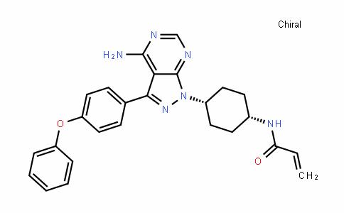 2-PropenamiDe, N-[cis-4-[4-amino-3-(4-phenoxyphenyl)-1H-pyrazolo[3,4-D]pyrimiDin-1-yl]cyclohexyl]-
