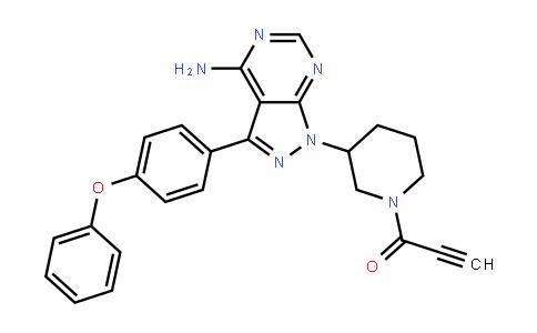2-Propyn-1-one, 1-[3-[4-amino-3-(4-phenoxyphenyl)-1H-pyrazolo[3,4-D]pyrimiDin-1-yl]-1-piperiDinyl]-