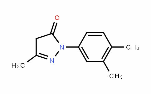 2-Pyrazolin-5-one, 3-methyl-1-(3,4-xylyl)-