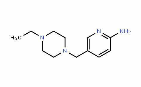 5-[(4-乙基哌嗪-1-基)甲基]吡啶-2-胺