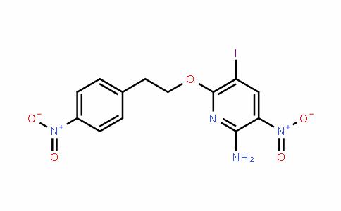 2-PyriDinamine, 5-ioDo-3-nitro-6-[2-(4-nitrophenyl)ethoxy]-
