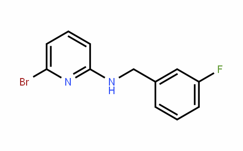 2-PyriDinamine, 6-bromo-N-[(3-fluorophenyl)methyl]-