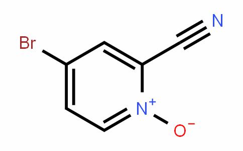 2-PyriDinecarbonitrile, 4-bromo-, 1-oxiDe