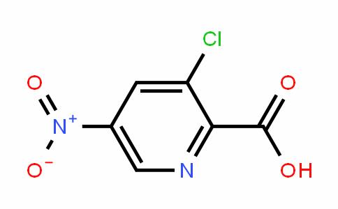 2-PyriDinecarboxylic acid, 3-chloro-5-nitro-