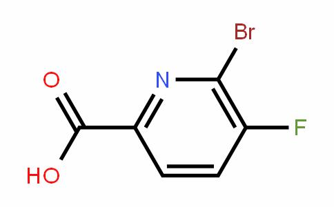 6-溴-5-氟-2-吡啶甲酸