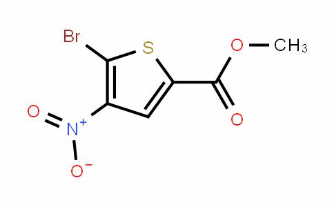 2-Thiophenecarboxylic acid, 5-bromo-4-nitro-, methyl ester (7CI,9CI)