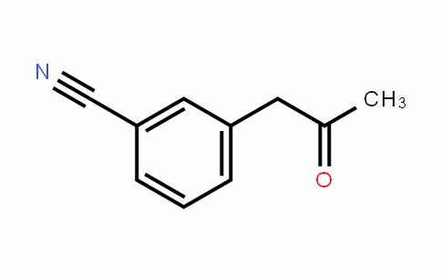 3-(2-oxopropyl)benzonitrile