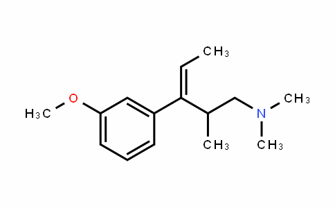 3-(3-methoxyphenyl)-N,N,2-trimethylpent-3-en-1-amine