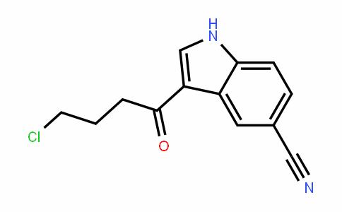 3-(4-氯-1-氧代丁基)-1H-吲哚-5-甲腈