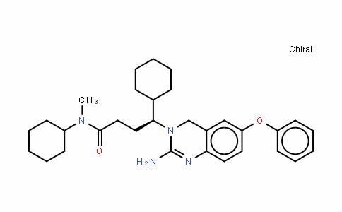 3(4H)-QuinazolinebutanaMiDe, 2-aMino-N,g-Dicyclohexyl-N-Methyl-6-phenoxy-, (gS)-