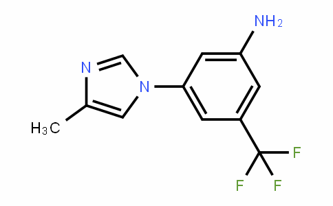 3-(4-Methyl-1H-iMiDazol-1-yl)-5-(trifluoroMethyl)benzenaMine