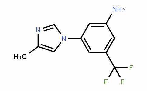 3-(4-甲基-1H-咪唑-1-基)-5-(三氟甲基)苯胺