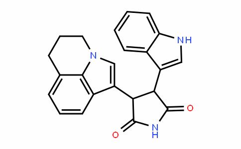3-(5,6-DihyDro-4H-pyrrolo[3,2,1-ij]quinolin-1-yl)-4-(1H-inDol-3-yl)pyrroliDine-2,5-Dione