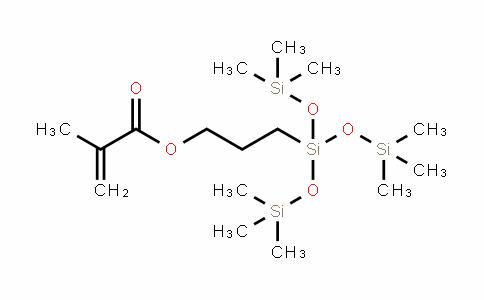 甲基丙烯酸3-[三(三甲基硅氧基)甲硅烷基]丙酯 (稳定于MEHQ中)