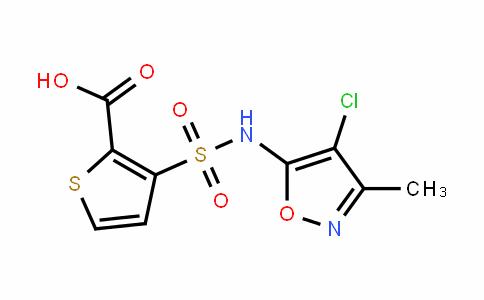 3-[[(4-氯-3-甲基-5-异恶唑基)氨基]磺酰基]-2-噻吩羧酸