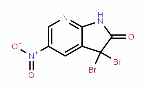 3,3-Dibromo-5-nitro-1H-pyrrolo[2,3-b]pyriDin-2(3H)-one