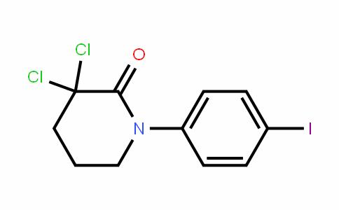 3,3-Dichloro-1-(4-ioDophenyl)piperiDin-2-one
