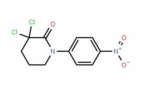 3,3-Dichloro-1-(4-nitrophenyl)piperiDin-2-one