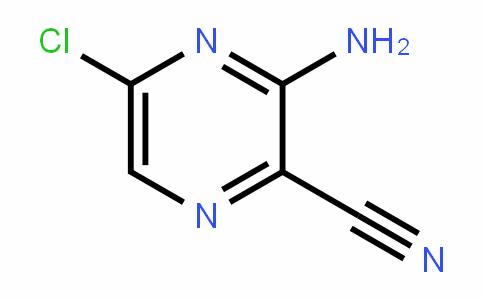 3-AMino-5-chloropyrazine-2-carbonitrile