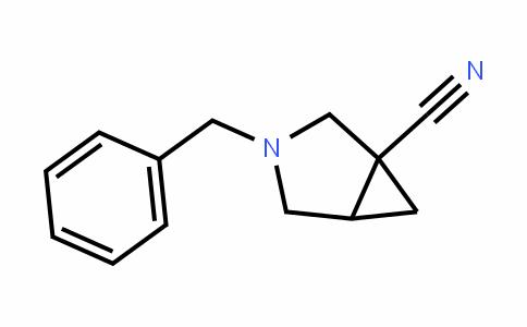 3-Azabicyclo[3.1.0]hexane-1-carbonitrile, 3-(phenylmethyl)- (9CI)