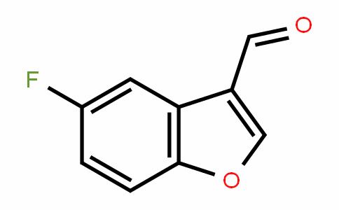 3-BenzofurancarboxalDehyDe, 5-fluoro-